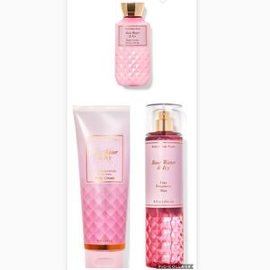 New Bath & Body Works Rose Water & Ivy